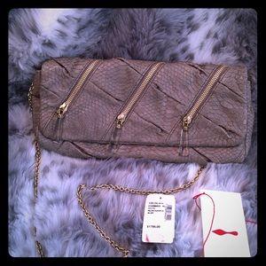 Authentic Christian Louboutin clutch/shoulder bag